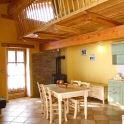 baita con appartamento in Piemonte