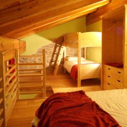 Camera baita con appartamento Piemonte