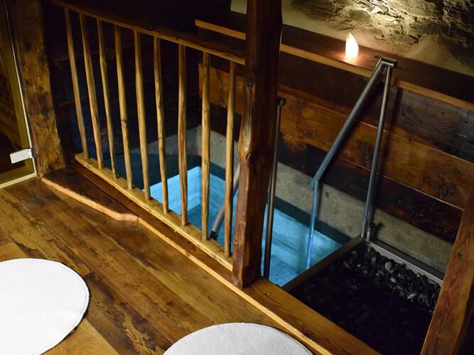 spa piscina baita
