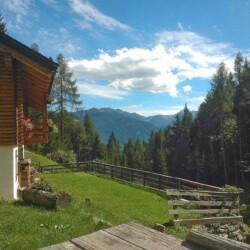 baita Alto Adige val di Cembra
