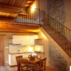 baita con appartamento in Piemonte Civico 9