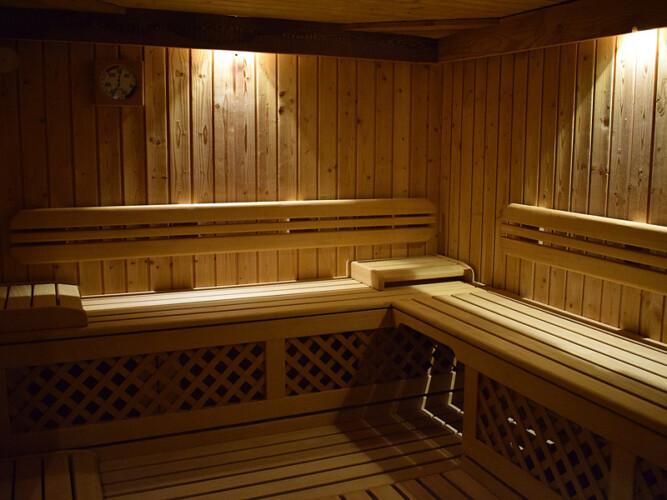 sauna appartamento baita