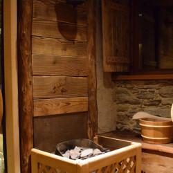 sauna baita in affitto