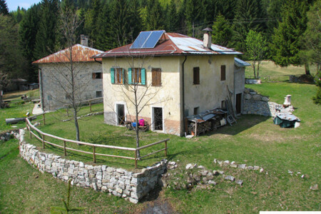 Baita Pellizzaro Trentino affitto vacanze