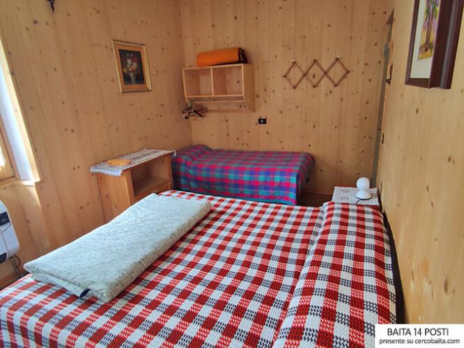 Baita Pellizzaro in affitto stanze
