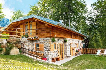 Baita al Compo affitto Trentino per vacanze