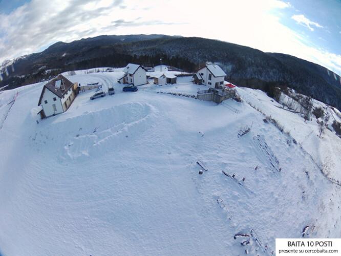 Chalet Coste De Mai neve inverno