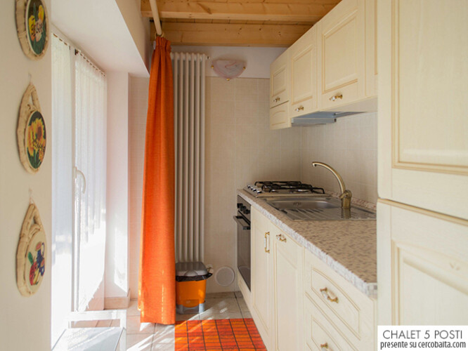 Chalet Fenil Stefy cucina