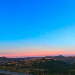 Guardiabruna tramonto