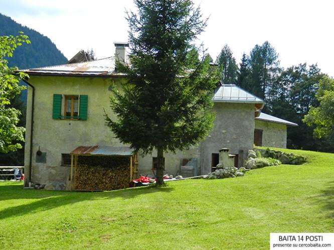 Maso Pellizzaro in affitto Trentino