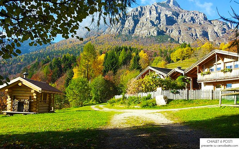 Trentino in affitto baita