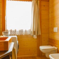 affitto baita Trentino bagno