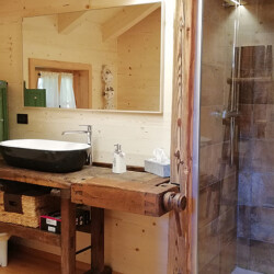 affitto chalet Bucaneve a Tarvisio bagno