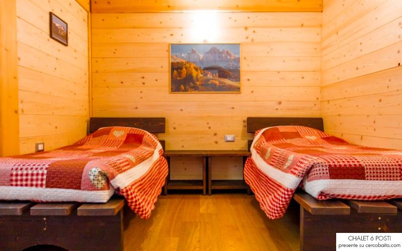 affitto chalet Trentino camera