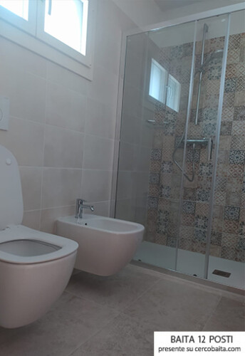 bagno dependance chalet montagna Veneto