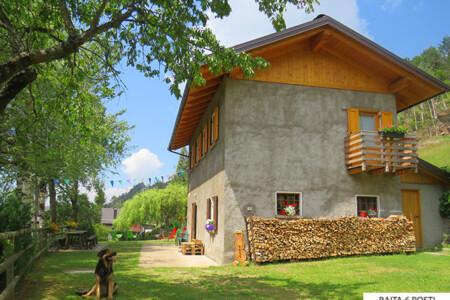 baita Angoma vacanze Trentino