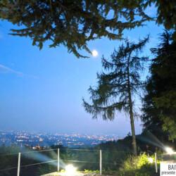 baita Orizzonti vista serale
