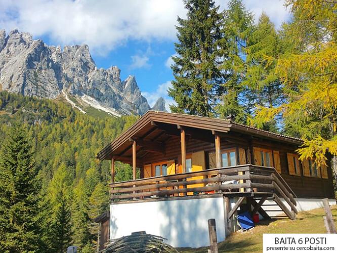 baita affitto Dolomiti