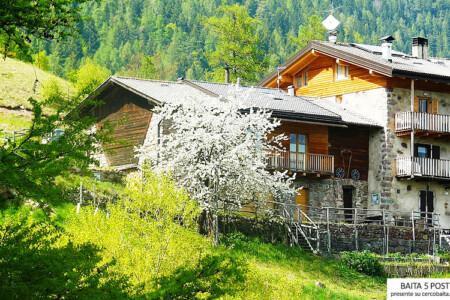 baita affitto Val dei Mocheni