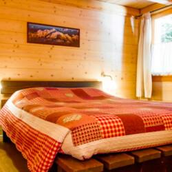 baita in affitto Trentino camera