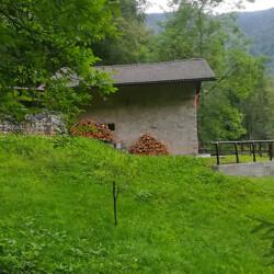 baita isolata Trentino