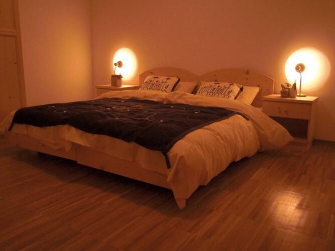 Camera da letto Val Pusteria baita affitto
