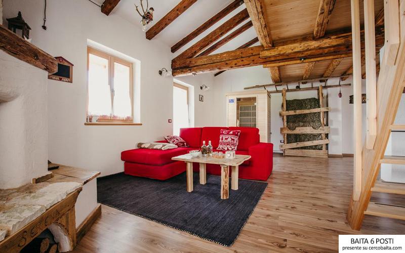 chalet-del-Fieno-Trentino-soggiorno - Cercobaita
