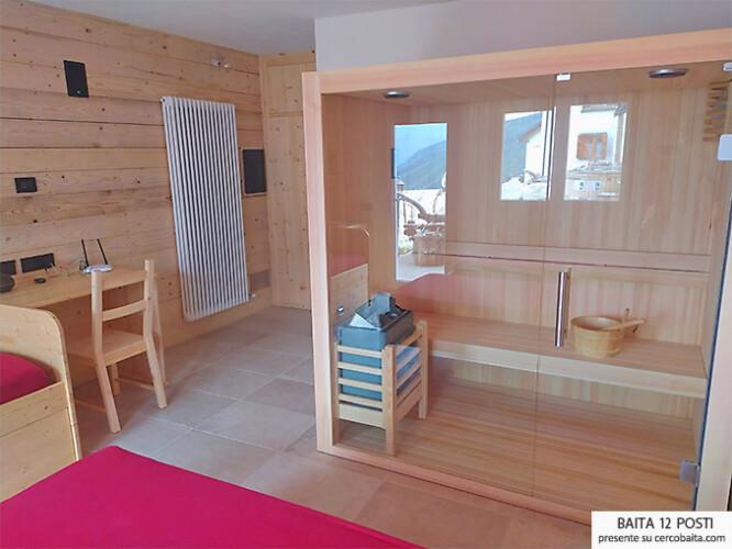 dependance chalet camera sauna