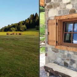 paesaggio baita Val di Non
