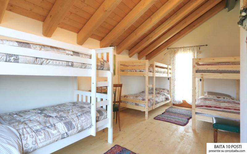 stanza affito baita in montagna Veneto