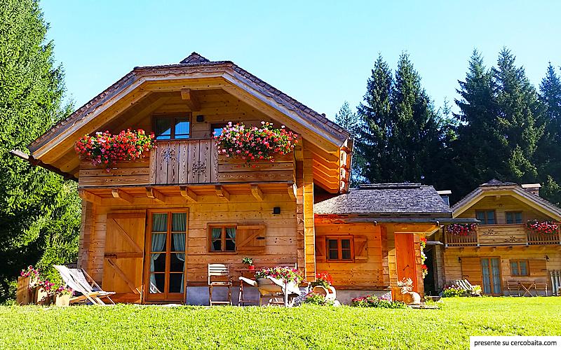 Villaggio chalet di rutte tarvisio friuli venezia giulia for Foto interni baite di montagna