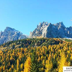 vista Dolomiti baita affitto