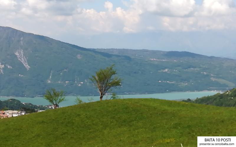 vista baita Veneto vacanze in montagna