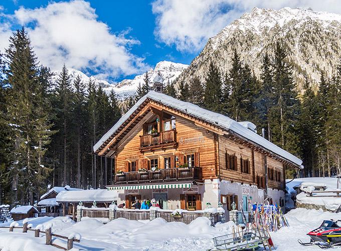 vacanza in montagna baita in affitto Anterselva Alto Adige
