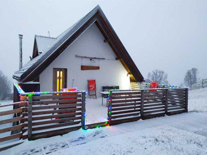 inverno Natale Chalet in affitto Veneto