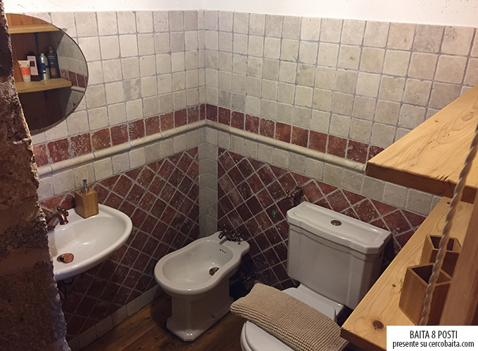 bagno baita San Martino di Castrozza