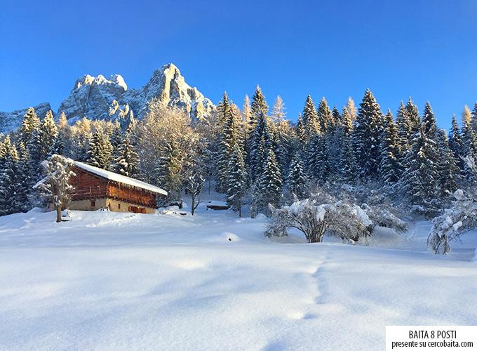 inverno baita affitto San Martino di Castrozza